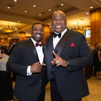 Antonio Langham and Steve Wallace at the Banquet Reception