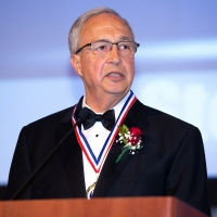 Steve Savarese gives his induction speech