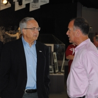 Steve Savarese and Luis Gonzalez at the Media Luncheon