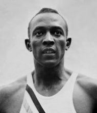 Portrait of Jesse Owens