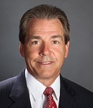 Portrait of Nick Saban